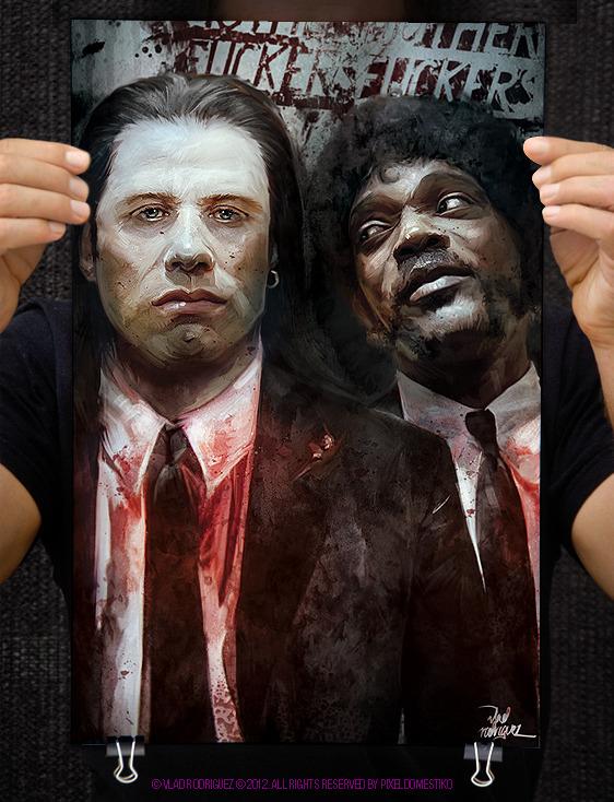 Poster Vincent Vega & Jules Winnfield