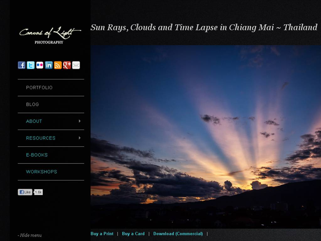 canvas of light The Most Innovative Travel Sites