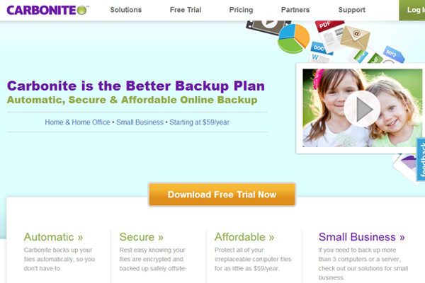 carbonite Online Backup Companies That Feature Unlimited Storage