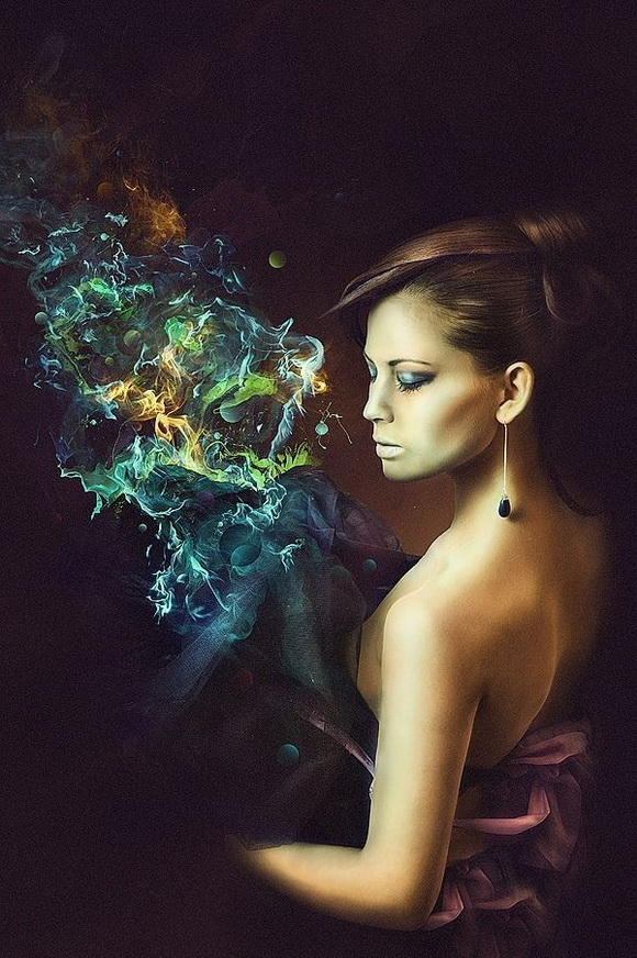 Create an Amazing Fashion Photomanipulation with Abstract Some and Light Effects