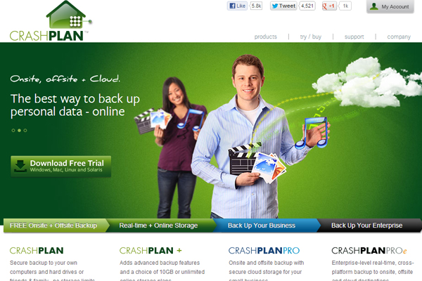 crashplan Online Backup Companies That Feature Unlimited Storage