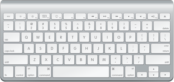How to Draw an Ultra Clean Apple Keyboard in Photoshop