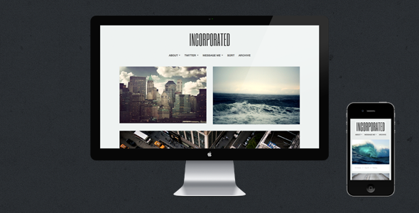inc large preview   large preview1 30 Beautiful Premium Tumblr Themes