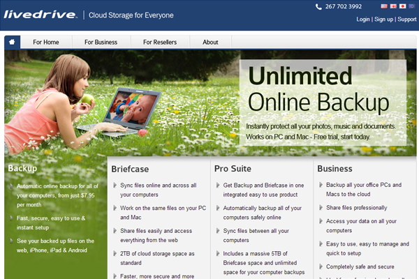 livedrive Online Backup Companies That Feature Unlimited Storage