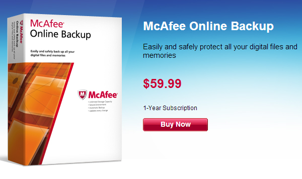 mcafee Online Backup Companies That Feature Unlimited Storage