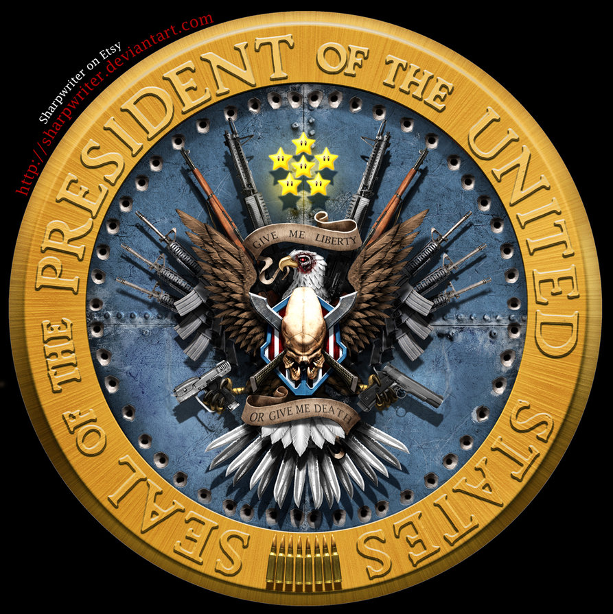 new clean presidential seal by sharpwriter d486yc81 Creative Political Illustrations by Jason Heuser