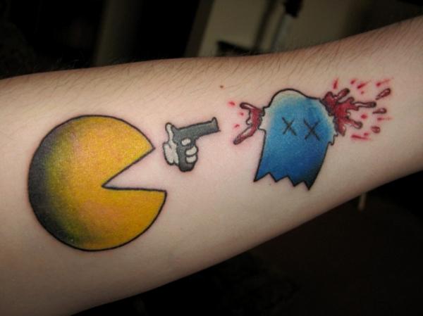 Pac_Man_Tattoo
