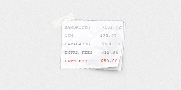 receipt 7 Common Web Hosting Disasters (And How to Avoid Them)
