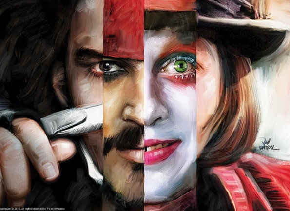 Many Faces Of Johnny Depp