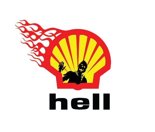 shell zombie 10 Classic Logos Re imagined for the Zombie Apocalypse