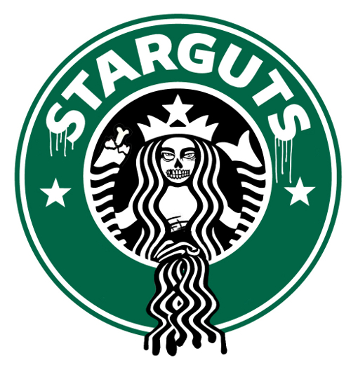 starguts 10 Classic Logos Re imagined for the Zombie Apocalypse