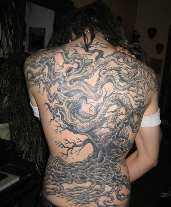 tree tattoo backpiece by ~LaughingTree