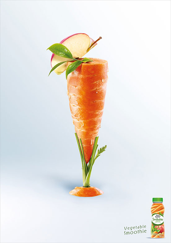 vegetable smoothie l1 45 Visionary Examples of Creative Photography #11
