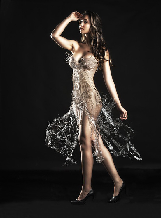 water dress l1 45 Visionary Examples of Creative Photography #11