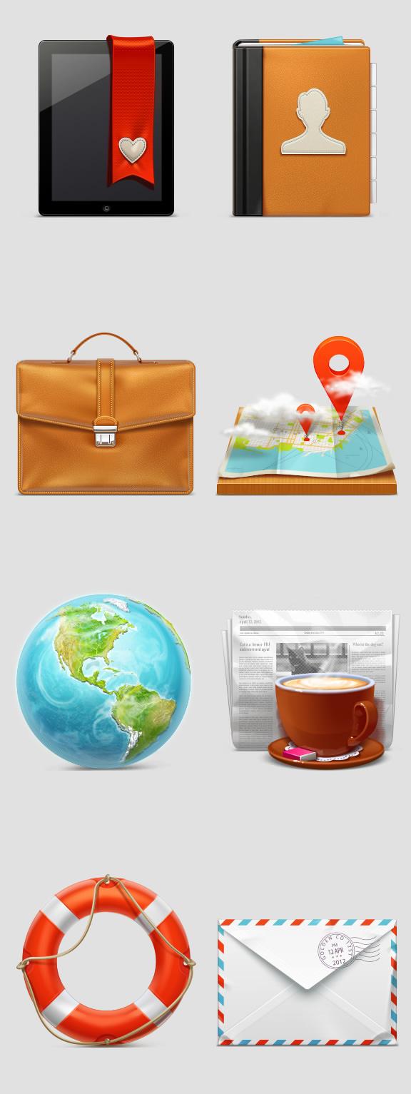 Free Web Icon Pack 1 by RocketTheme