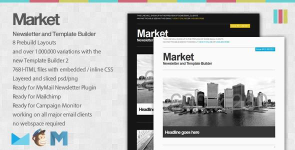Market - Newsletter and Template Builder