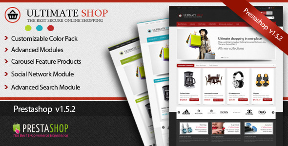 01 preview   large preview14 Clean and Modern E commerce Prestashop Themes