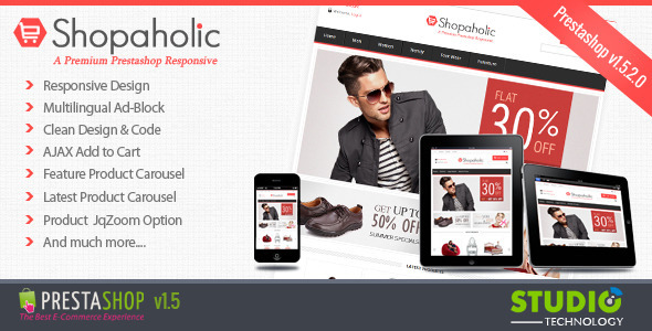 01 preview   large preview15 Clean and Modern E commerce Prestashop Themes