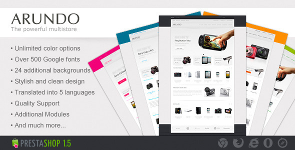 01 preview   large preview16 Clean and Modern E commerce Prestashop Themes