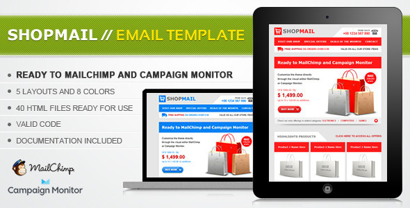 01 preview image   large preview1 45 Email Templates For Your Marketing Campaign