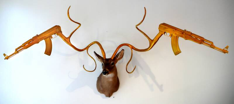 067 Unique Taxidermy Sculptures by Peter Gronquist