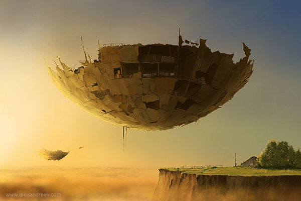 1176891249375097 Separate Reality Paintings by Alex Andreyev