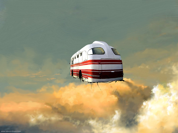 1176891249378506 Separate Reality Paintings by Alex Andreyev