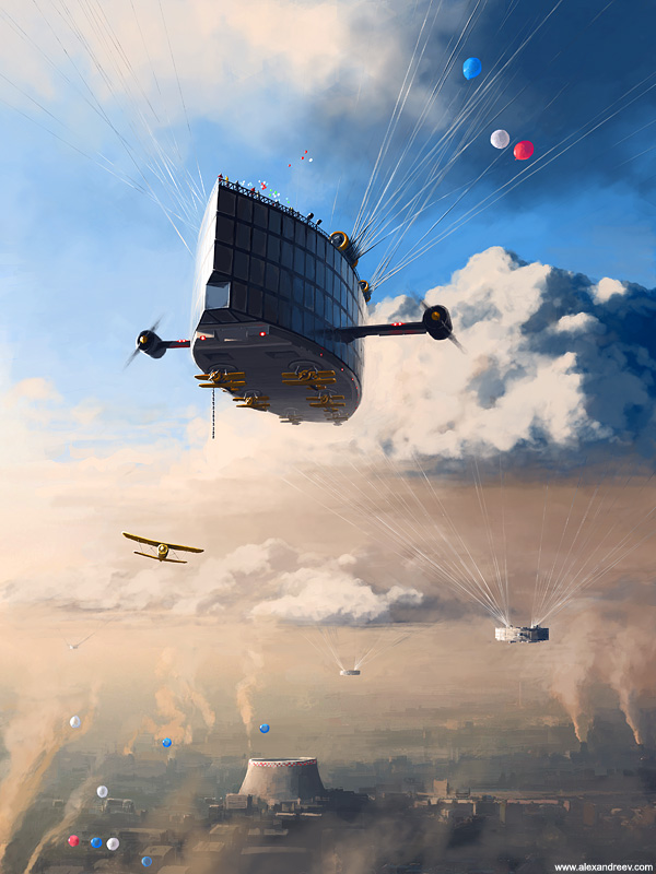1176891275049922 Separate Reality Paintings by Alex Andreyev