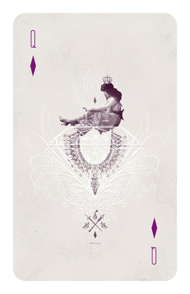 Queen of Diamonds by Anna Pietrzak