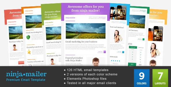 1 mainpreview   large preview1 45 Email Templates For Your Marketing Campaign