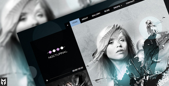 1 preview   large preview12 20 Premium Entertainment Wordpress Themes