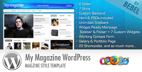1 start   large preview1 20 Premium Entertainment Wordpress Themes
