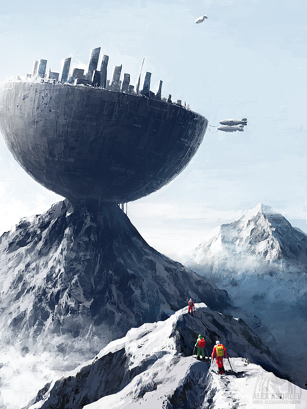 1ef35b8e2ca698106849df1df8cedaf3 Separate Reality Paintings by Alex Andreyev
