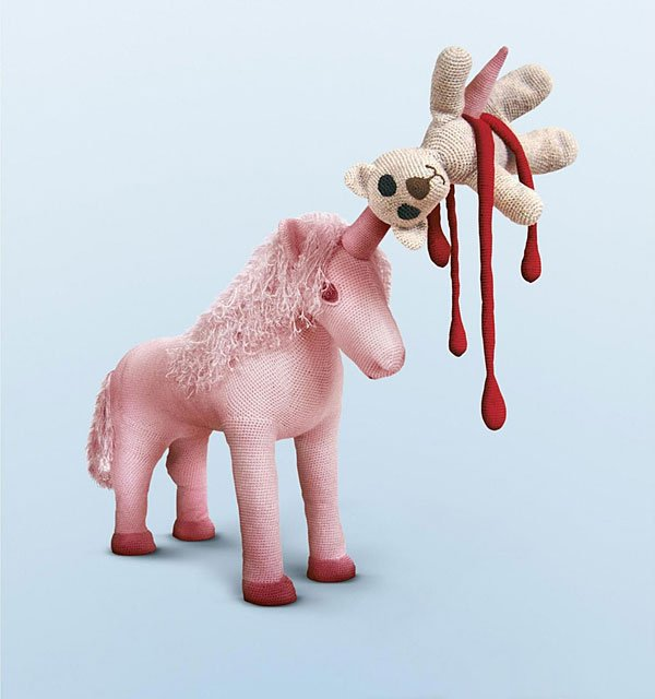 222034693082585483 ced622c35cbc1 Disturbing and Violent Plush Toys by Patricia Waller