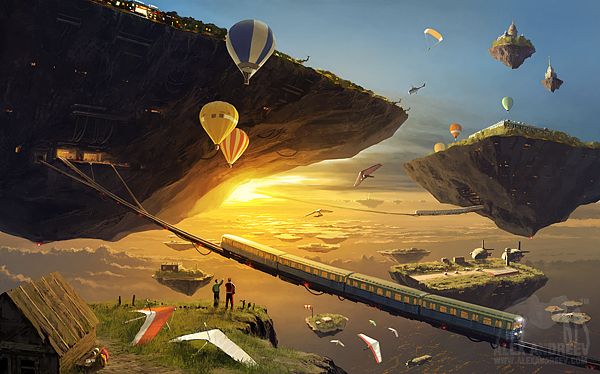 2f46f06f613232c50dbc8ee9a8f8f08f Separate Reality Paintings by Alex Andreyev