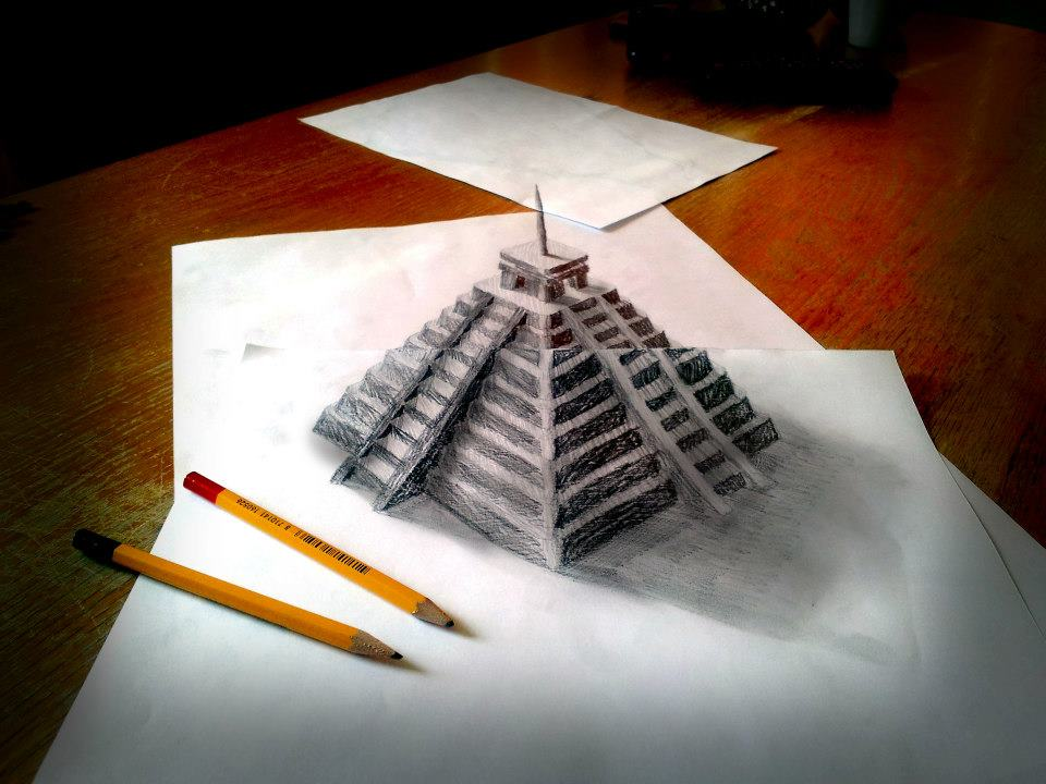 309226 399428223453173 2048176022 n 3D Pencil Drawings by Ramon Bruin