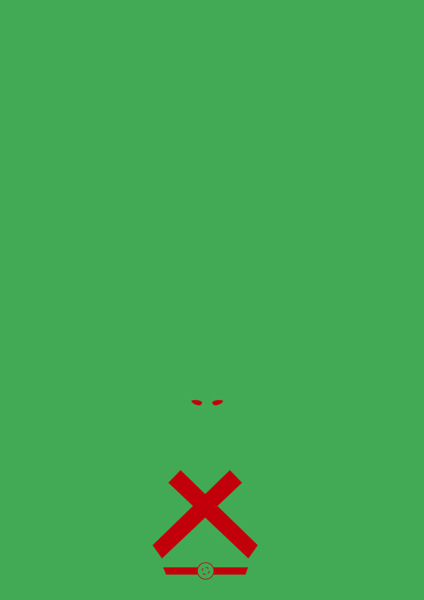 32b942d07cbb7155a505d0650b018ed3 Minimalist Super Hero Posters by Michael Turner