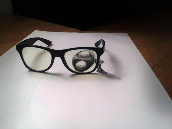 3d optical illusions jjk airbrush 7 3D Pencil Drawings by Ramon Bruin