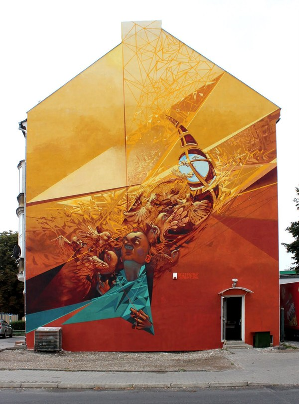 457f0b730827ebe52769a110413da03a1 Outstanding Street Graffiti by Przemek Blejzyk