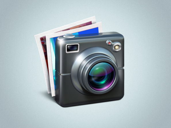 iPhoto icon by Ramotion