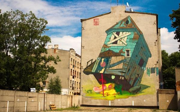 563e94cd2dbaf521b3e01e8a3262db9b1 Outstanding Street Graffiti by Przemek Blejzyk