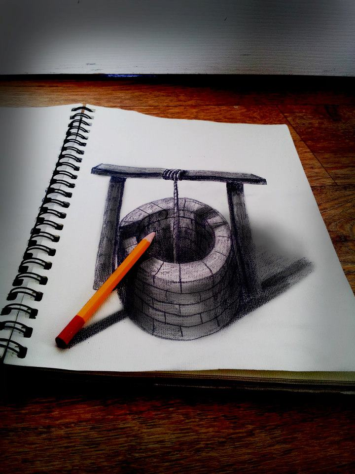 3d drawing pencil 3d pencil drawings by ramon bruin inspirationfeed 949