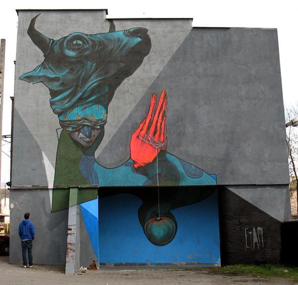 85e7b73c7eb390b9212bb52ec373e51e1 Outstanding Street Graffiti by Przemek Blejzyk