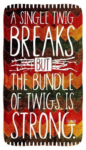 Tecumseh Quote by Rollerpimp