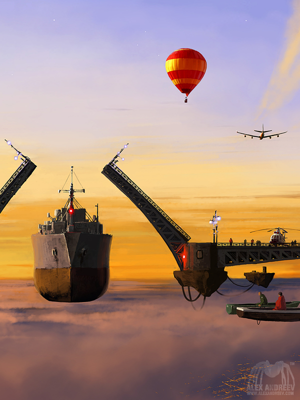 b60ad69ce83ebcd7792ddff747dc81e5 Separate Reality Paintings by Alex Andreyev