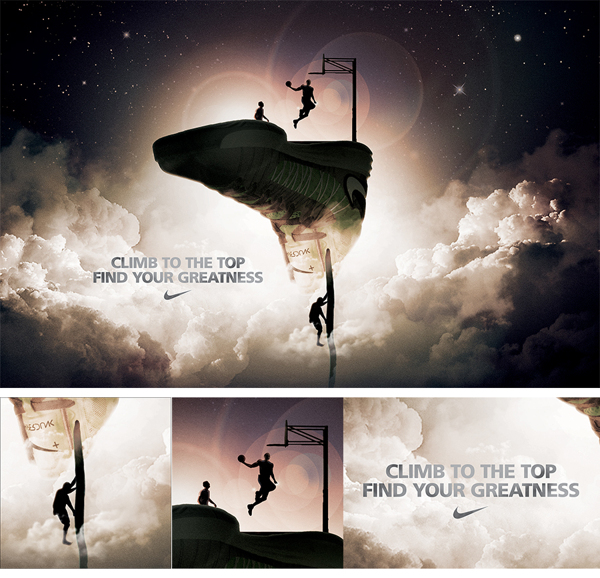 ba943c3b64689db2d454a17b69c92f331 20 Heartstopping Basketball Advertising Ideas