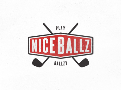ballz1 25 Cleverly Designed Golf Logos