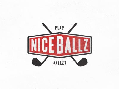 NiceBallz Logo by Sean Farrell