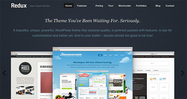 business website template1 30 Free PSD Web Design Templates