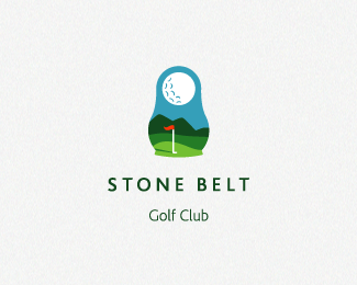 c0648cded2f923d21e85965d5601bc911 25 Cleverly Designed Golf Logos
